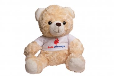 Teddy Bear with Buta Airways logo