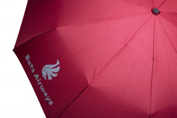 Folding umbrella with Buta Airways logo